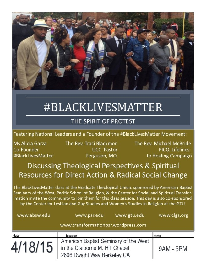 April 18 BlackLivesMatter Event