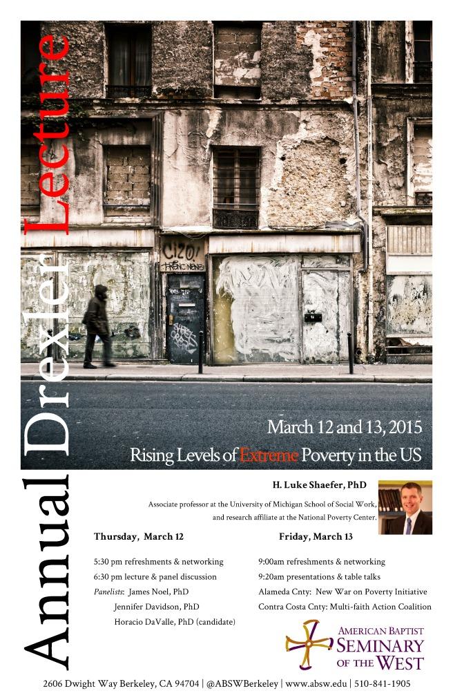 Drexler Lecture 2015
