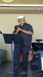 Dr. Burris has been making music this summer.
